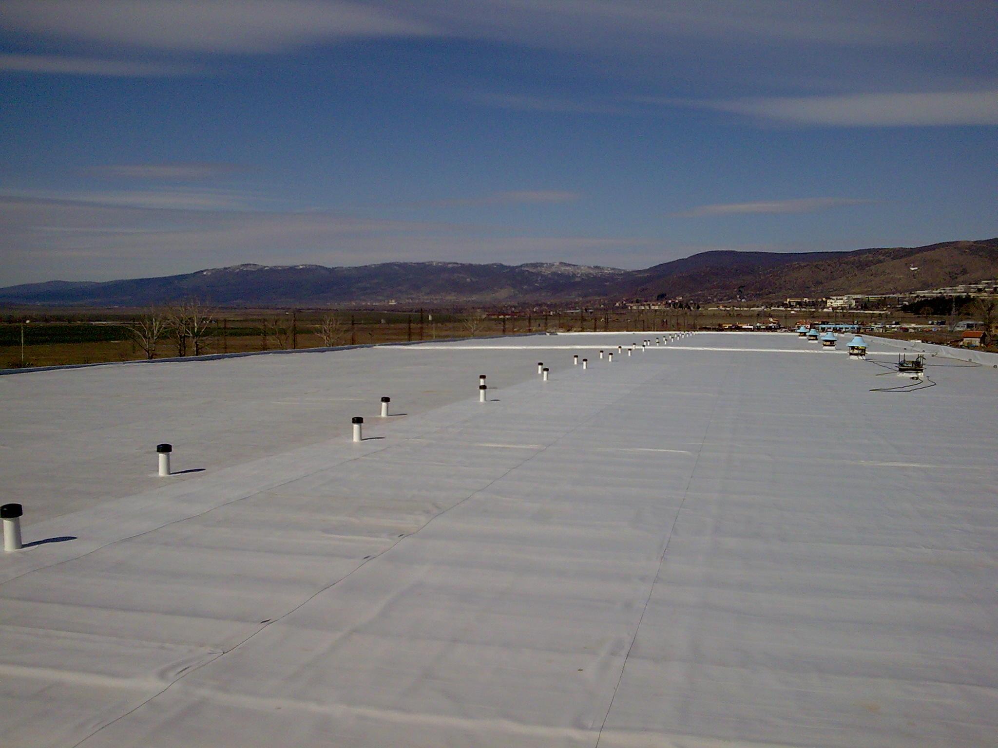 монтаж на PVC хидроизолационни системи