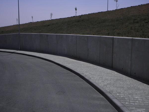Подпорна стена Ново село