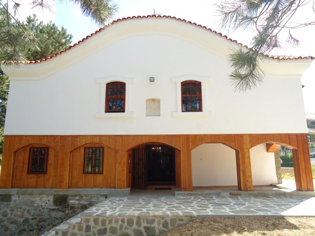 Църква Голямо Крушево след реконструкцията