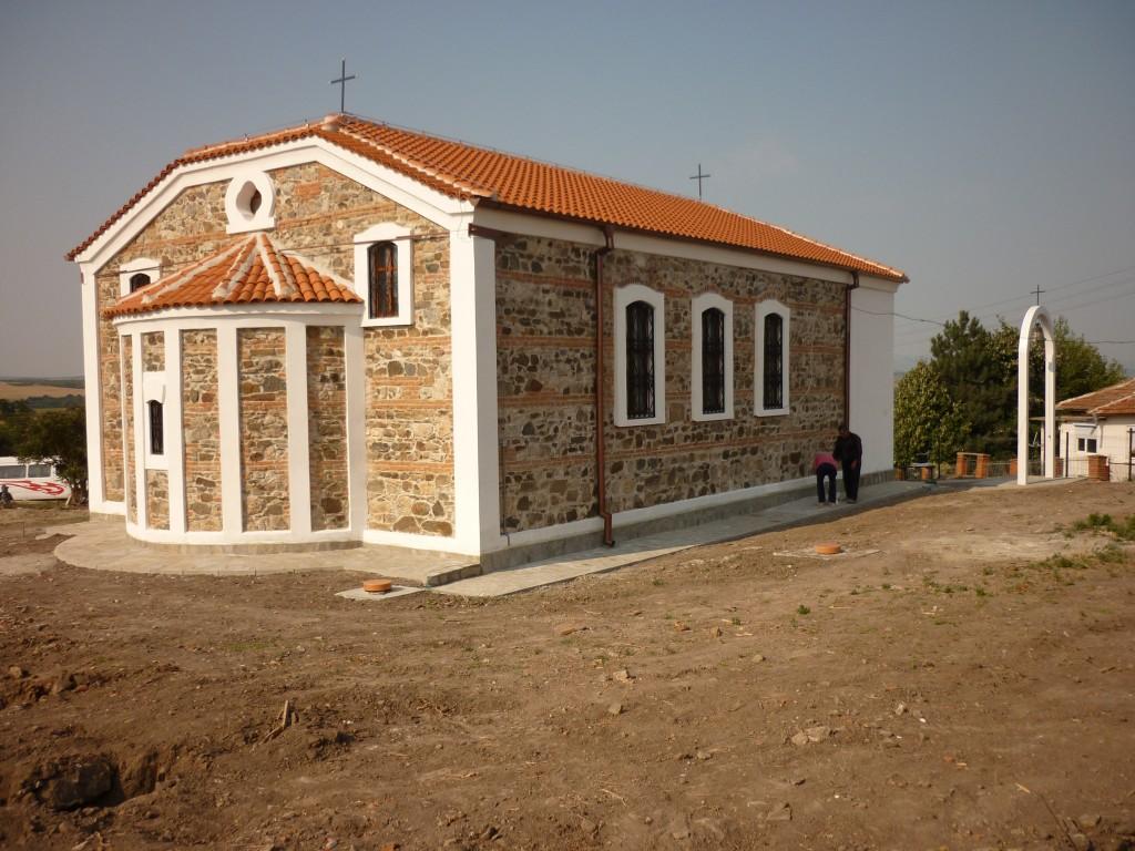 Църква с. Добрич след реконструкцията