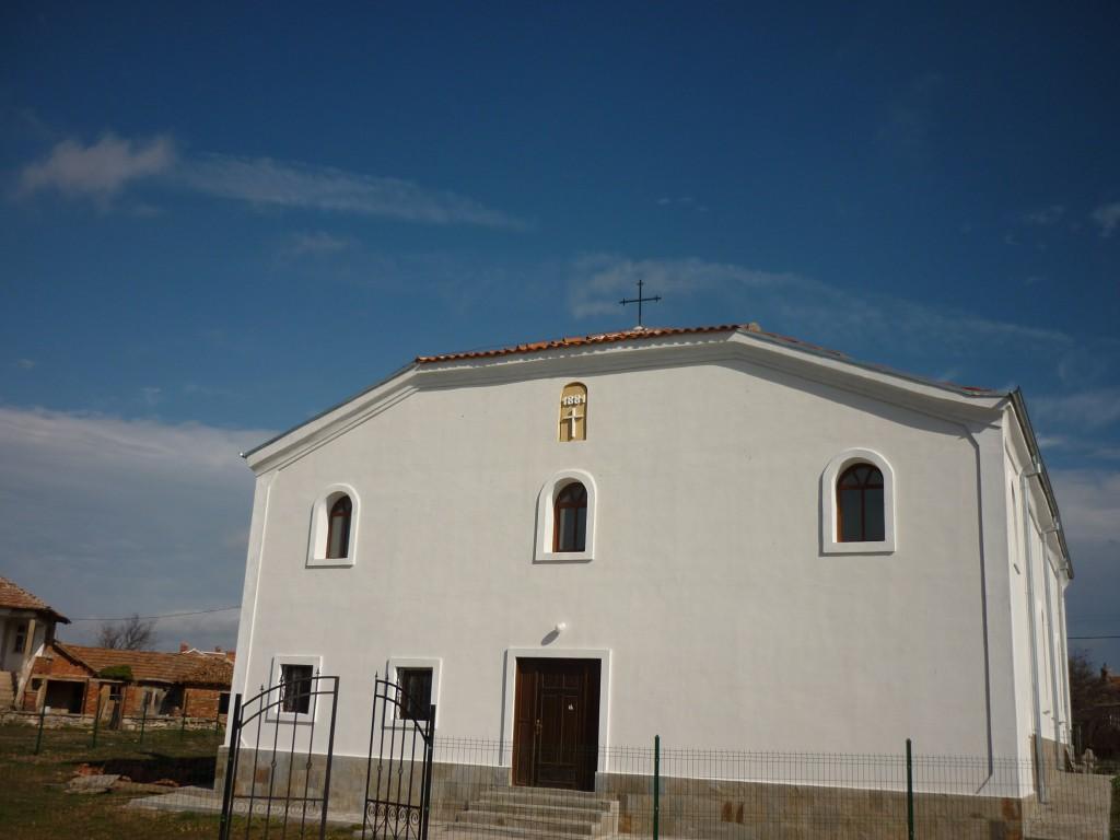 Църква село Голямо Шарково след реконструкцията
