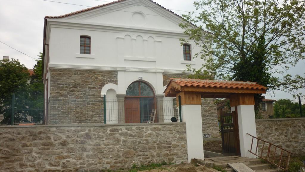 Църква село Драчево след реконструкцията